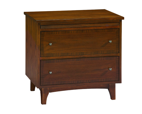 Image of Mardella 2-Drawer Nightstand