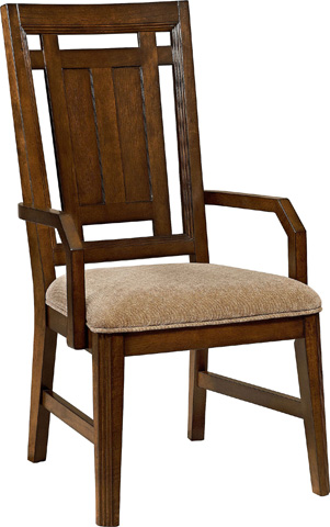 Broyhill Furniture - Estes Park Upholstered Seat Arm Chair - 4364-580