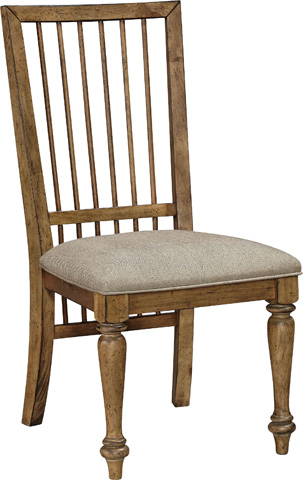 Broyhill Furniture - Bethany Square Upholstered Seat Studio Side Chair - 4930-585