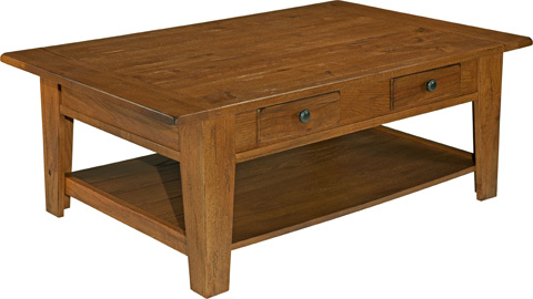 Broyhill Furniture - Attic Heirlooms Cocktail Table - 3397-01SV