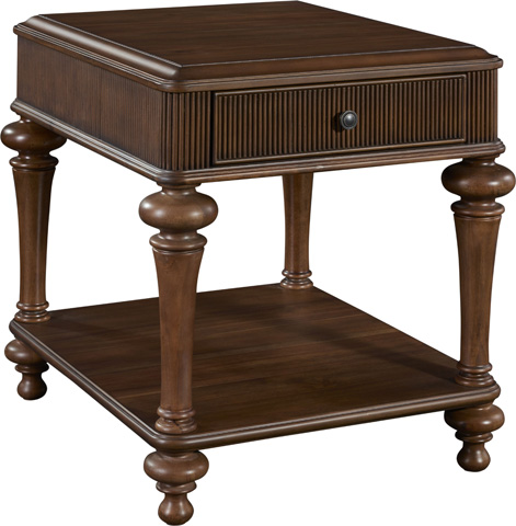Broyhill Furniture - Cascade Drawer End Table - 4940-002