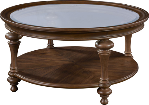 Broyhill Furniture - Cascade Round Cocktail Table - 4940-003