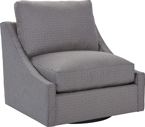 Broyhill Furniture - Aldrin Swivel Chair and a Half - 9070-8