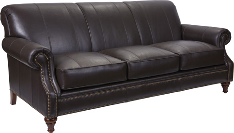 Broyhill Furniture - Windsor Leather Sofa - L4250-3