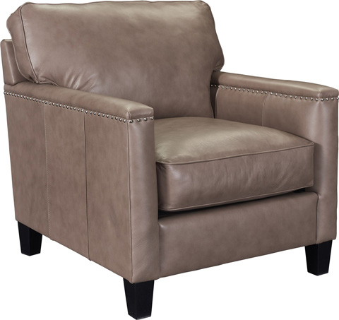 Broyhill Furniture - Lawson Leather Chair - L4254-0
