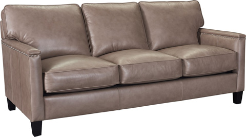 Broyhill Furniture - Lawson Leather Sofa - L4254-3
