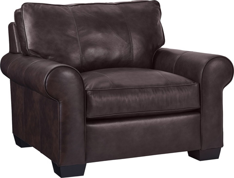 Broyhill Furniture - Isadore Leather Chair and a Half - L4272-0