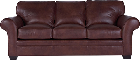 Broyhill Furniture - Zachary Leather Sofa - L7902-3