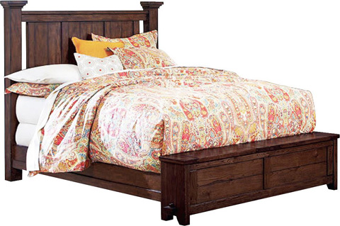 Broyhill Furniture - Attic Heirlooms King Poster Bed - ATTIC HEIRLOOMS POSTER BED