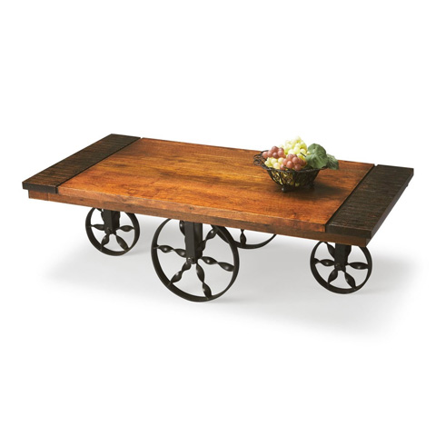 Butler Specialty Co. - Wagon Cocktail Table - 2854120