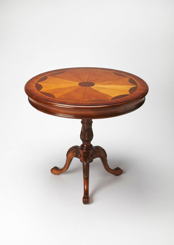 Image of Carissa Pedestal Accent Table