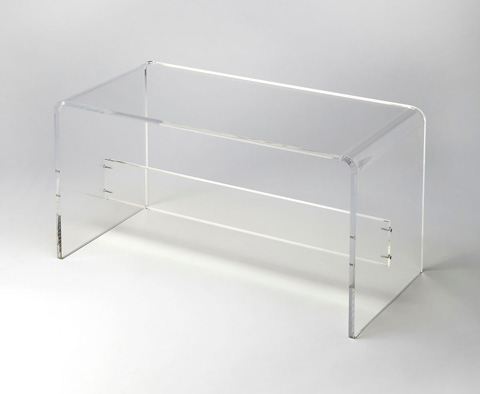 Image of Crystal Clear Cocktail Table