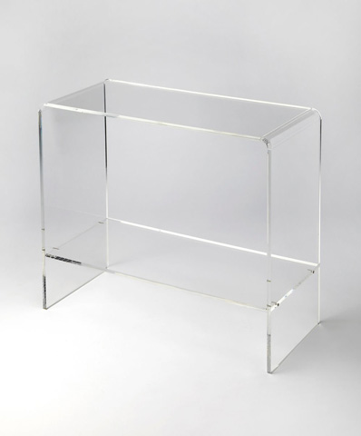 Image of Crystal Clear Console Table