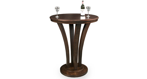 California House - Round Pub Table - T30-RND-VEN-PB