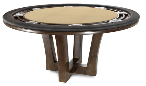 California House - Game Table with Storage - T42-RND-CIT-GS