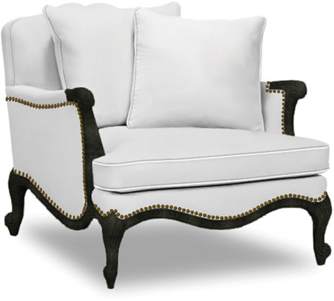 Caracole - Savoir Faire Leather Club Chair - UPH-CHACAV-27L