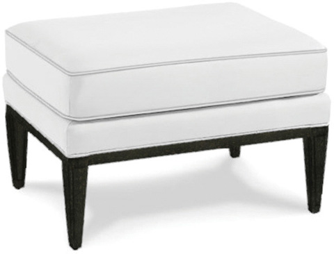 Caracole - The Bee's Knees Leather Ottoman - UPH-OTTMAT-16L
