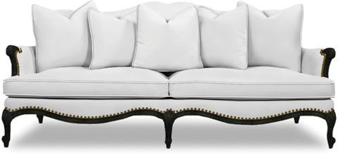 Caracole - Oui Oui Leather Sofa - UPH-SOFCAV-11L