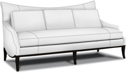 Caracole - White Noise Sofa - UPH-SOFWOO-30
