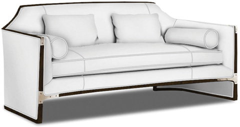 Caracole - Simply Put Sofa - UPH-SOFWOO-37