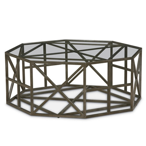 Image of Cobblestone Hex Cocktail Table
