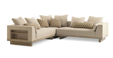 Image of Kennewick Sectional with Left Shelf
