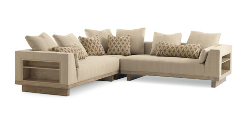 Image of Kennewick Sectional with Shelves