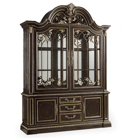 Image of Mezzanotte Curio Cabinet