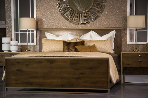 Image of Modern Artisan Collection Queen Bedroom Set