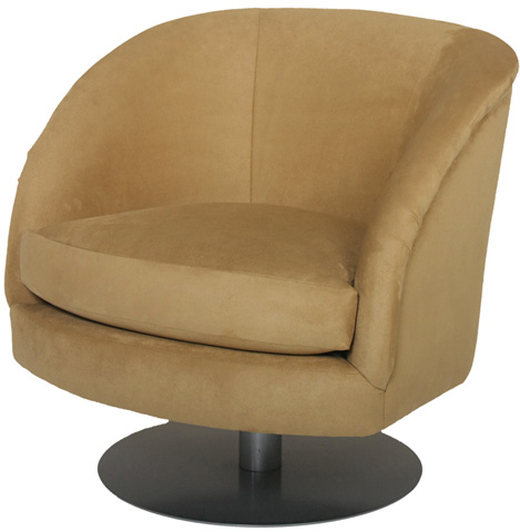Carter Furniture - Fellini Swivel Chair - 383