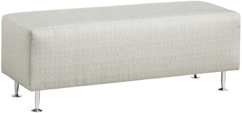 Carter Furniture - Bench Ottoman - 400-48