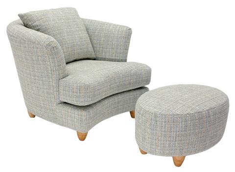 Carter Furniture - Martini Chair - 545-92