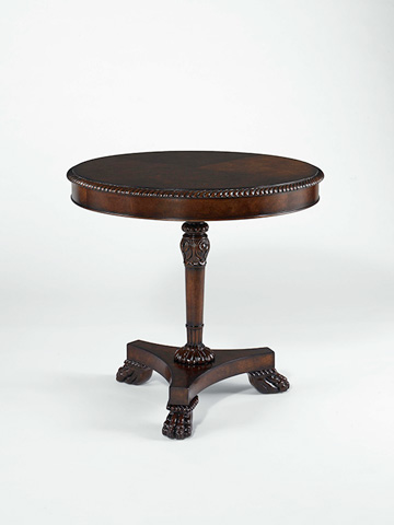 Century Furniture - Round Pedestal Lamp Table - 30H-621