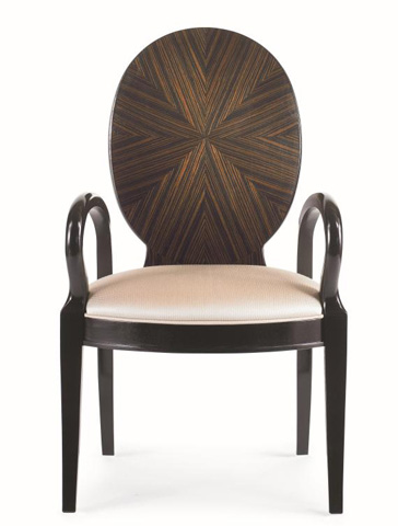 Century Furniture - Oval Back Arm Chair - 55E-512