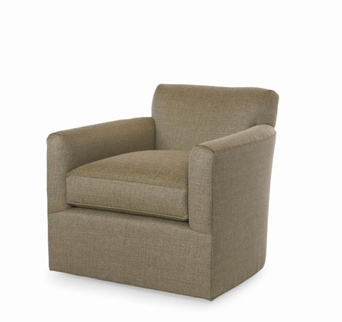 Century Furniture - Maximo Swivel Club Chair - ESN229-8