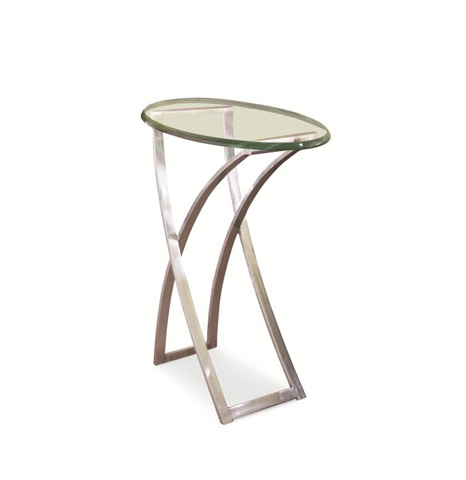 Century Furniture - Metal Chairside Table - 55A-628