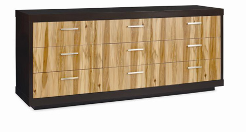 Image of Eight Drawer Dresser with Drop Front