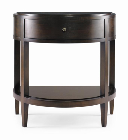 Image of Demilune Leg Nightstand