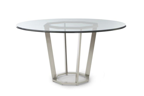Image of Fair Park Round Metal Dining Table