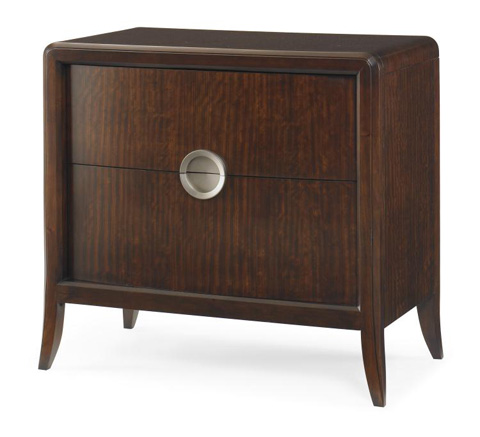 Century Furniture - Carew Two Drawer Nightstand - 41H-223