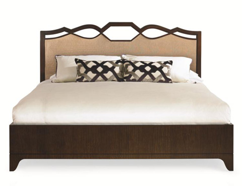 Century Furniture - Ogee Upholstered King Bed - 419-176