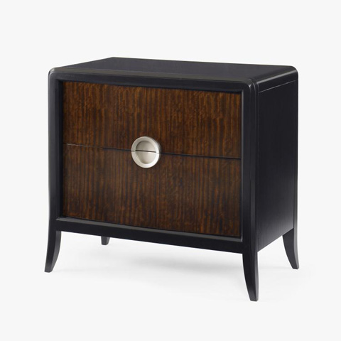 Image of Carew Two Drawer Nightstand