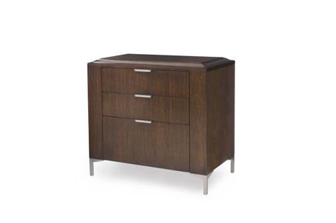 Century Furniture - Wiltern Three Drawer Nightstand - 419-224