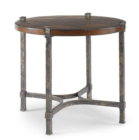 Image of North Star Round Lamp Table