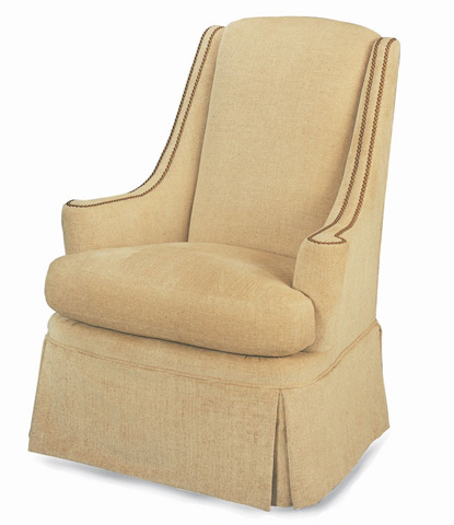 Century Furniture - Stanford Skirted Chair - 11-516