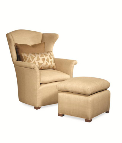 Century Furniture - Mendocino Wing Chair - 11-719-BX