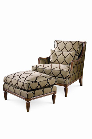 Century Furniture - Jensen Chair - 3319