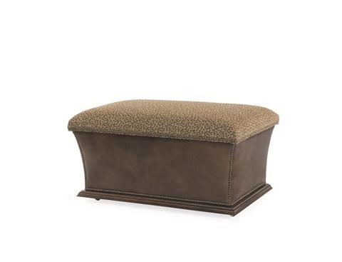 Century Furniture - Warren Storage Ottoman - 33-201PT