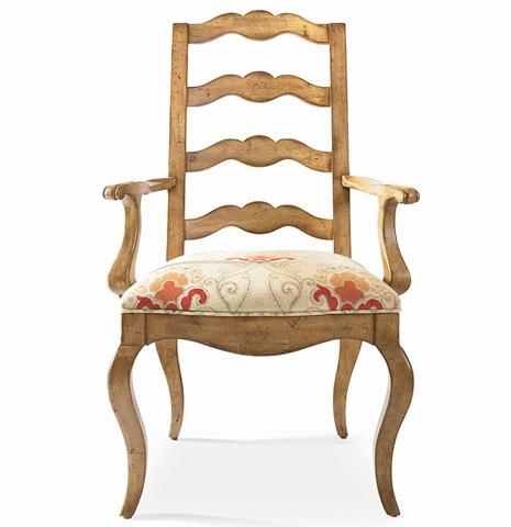 Century Furniture - Ladderback Arm Chair - 3437A