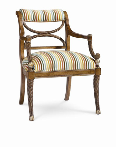Century Furniture - Candy Cane Chair - 3629